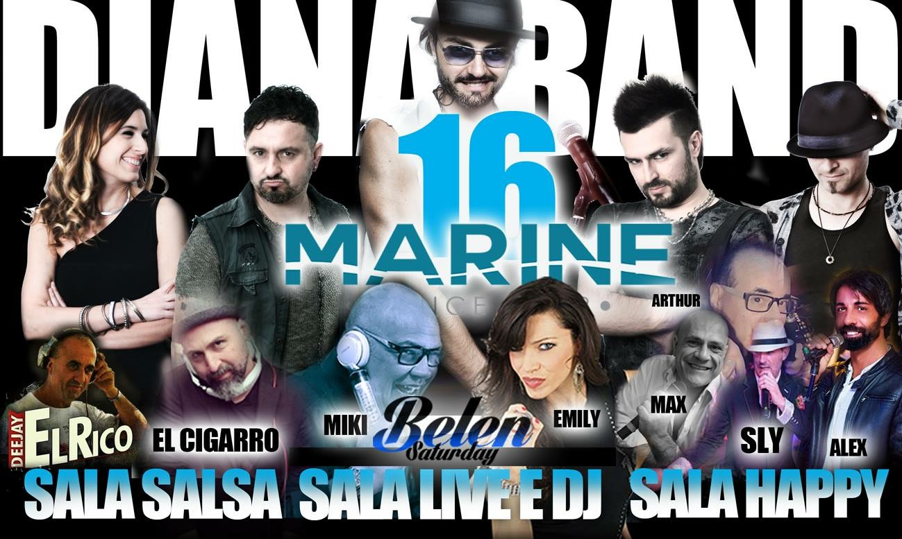 Marine Village Sabato 16 giugno 2018 - Belen Saturday