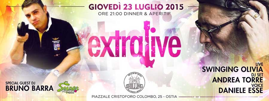 Shilling - Giovedì | Extra Live