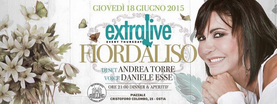 Shilling - Giovedì | Extralive Fiordaliso